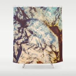 Agate, Earth frozen in time Shower Curtain