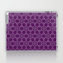 Hexagonal Circles - Elderberry Laptop & iPad Skin