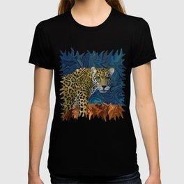 Leopard with the Sky in His Eyes T-shirt