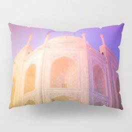 Morning Light Reflexion at Taj Mahal Pillow Sham