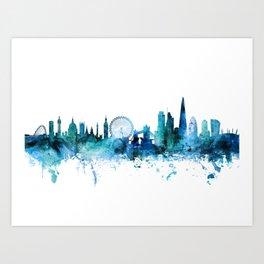 London Skyline Art Prints For Any Decor Style Society6