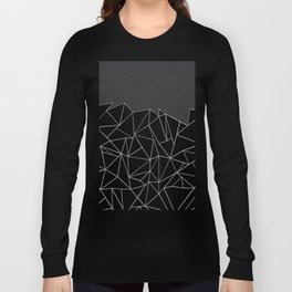 Ab Lines 45 Grey and Black Long Sleeve T-shirt