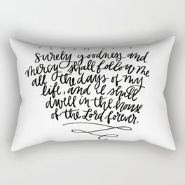 Psalm 23 Rectangular Pillow