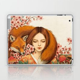Red Fox - Totem Laptop & iPad Skin