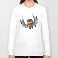 falcon Long Sleeve T-shirts featuring Falcon by Meekobits
