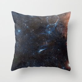 Galaxies Throw Pillow