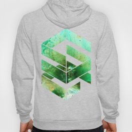 Abstract Space - version 2 - inverted Hoody