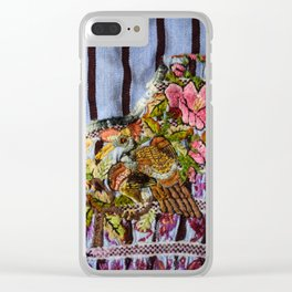 Guatemala - Huipil of Brown Birds Clear iPhone Case