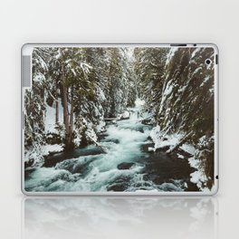 The Wild McKenzie River Portrait - Nature Photography Laptop & iPad Skin
