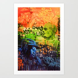 Legendary Emcees Art Print