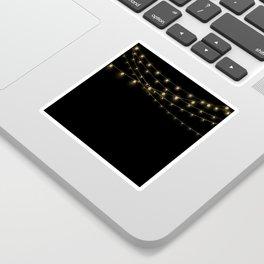 Gold rich Glitter Chain- Treasure Sparkle Sticker