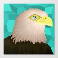 eagle Canvas Prints featuring Eagle by Nir P