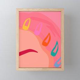 Girly Framed Mini Art Print