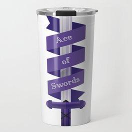 Ace of Swords Travel Mug