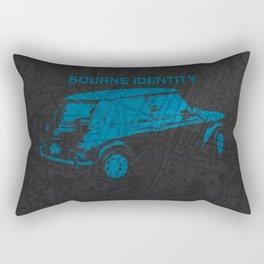 Bourne Map Rectangular Pillow