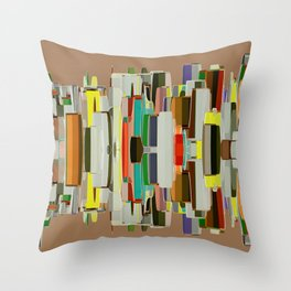 Abstract Composition 636 Throw Pillow