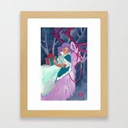 Winter Gift Framed Art Print