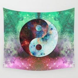 Ying-Yang Galaxy Wall Tapestry
