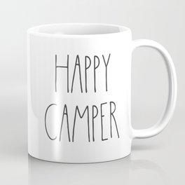 Happy Camper text Coffee Mug