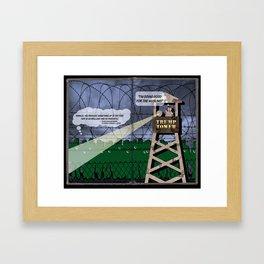 Chapter 5. Trump Tower. Framed Art Print