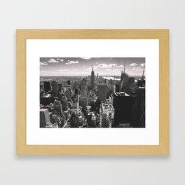 Top Of The Rock. Framed Art Print