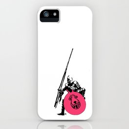 Everyday heroes - Bounce Champion iPhone Case