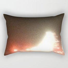 Abstracte Light Art in the Dark 13 Rectangular Pillow