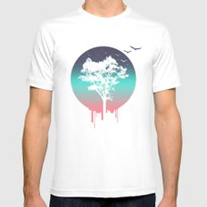 Tree Of Life Mens Fitted Tee MEDIUM White