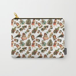 Victorian Christmas Carry-All Pouch