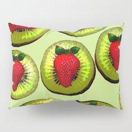 KIWI AND STRAWBERRY COCKTAIL Pillow Sham