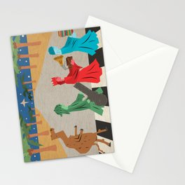 Christmas On Abbey Road Stationery Cards
