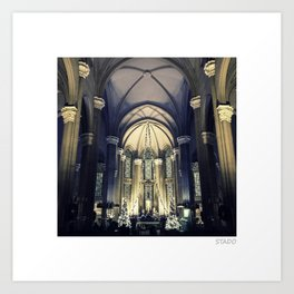 Church of St Anthony (Istanbul) Art Print