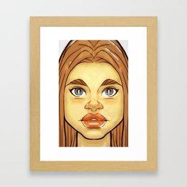 Jayneys Daughter Framed Art Print