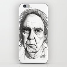 Neil Young iPhone & iPod Skin