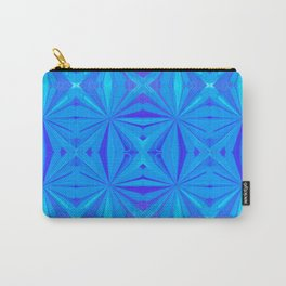 231 - Abstract blue pattern Carry-All Pouch