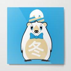 Fuyu - Season bear Winter Metal Print