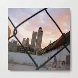 T-Town Sunset Metal Print