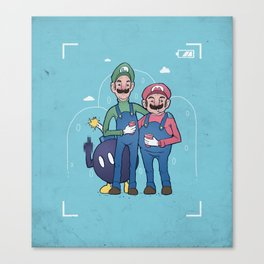 Photobob-omb Canvas Print