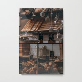 The Bakery Metal Print