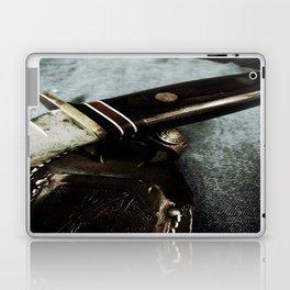 Old Hunting Knife Laptop & iPad Skin