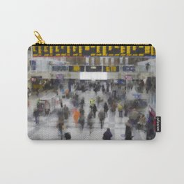 Liverpool Street Station London art Carry-All Pouch