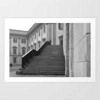 Piazzetta Reale Art Print