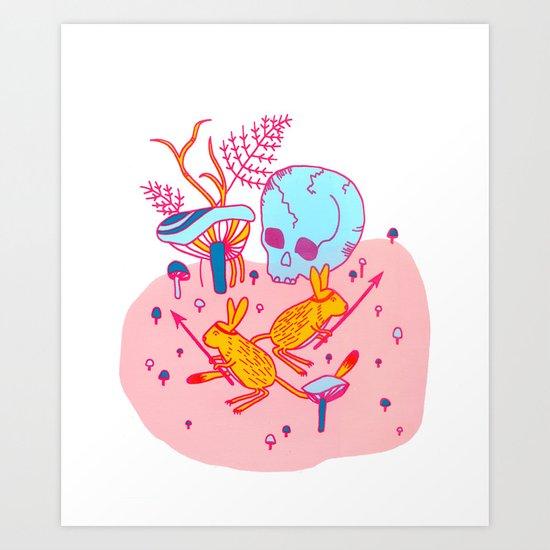 Headhunters Art Print
