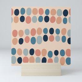 Abstract seamless pattern #3 Mini Art Print