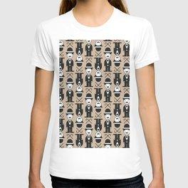 Charlie Chaplin Pattern T-shirt
