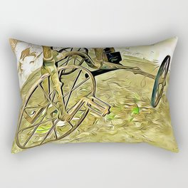 Once Upon a Time - Toy Trike Rectangular Pillow
