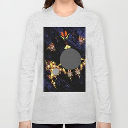 foreign moon walker Long Sleeve T-shirt