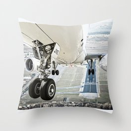 Positive rate.. gear up Throw Pillow