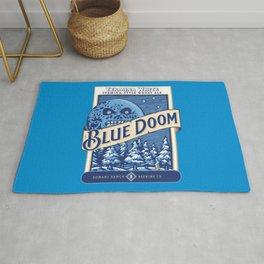 Blue Doom Rug