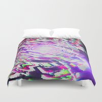 sonic Duvet Covers featuring Sonic Color by Stephanie Pratt McRoberts
